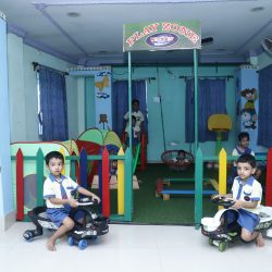 1) play area 1
